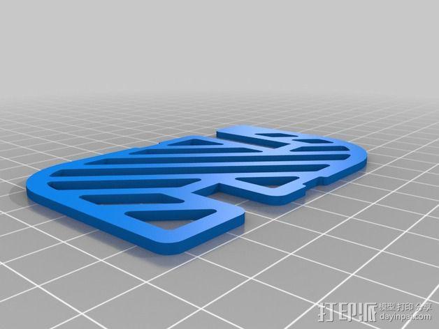 卡座 3D模型  图2