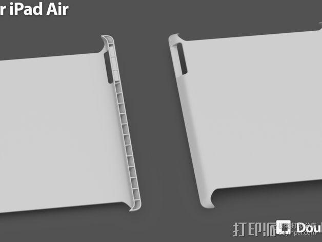 iPad Air保护壳 3D模型  图3
