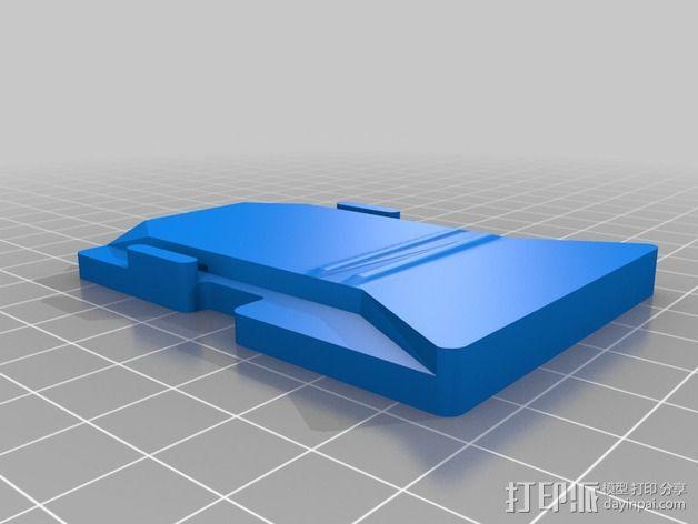 Sennheiser EW 100 支架 3D模型  图3