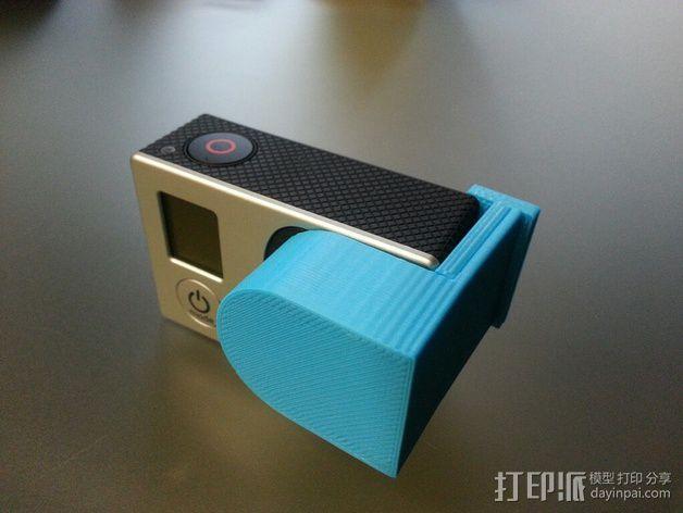 Gopro 3镜头盖 3D模型  图7