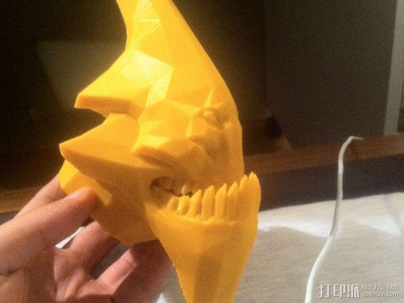 Sand King head摆件 3D模型  图1