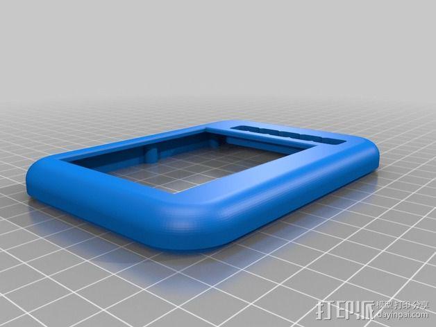 液晶平板保护壳 3D模型  图2