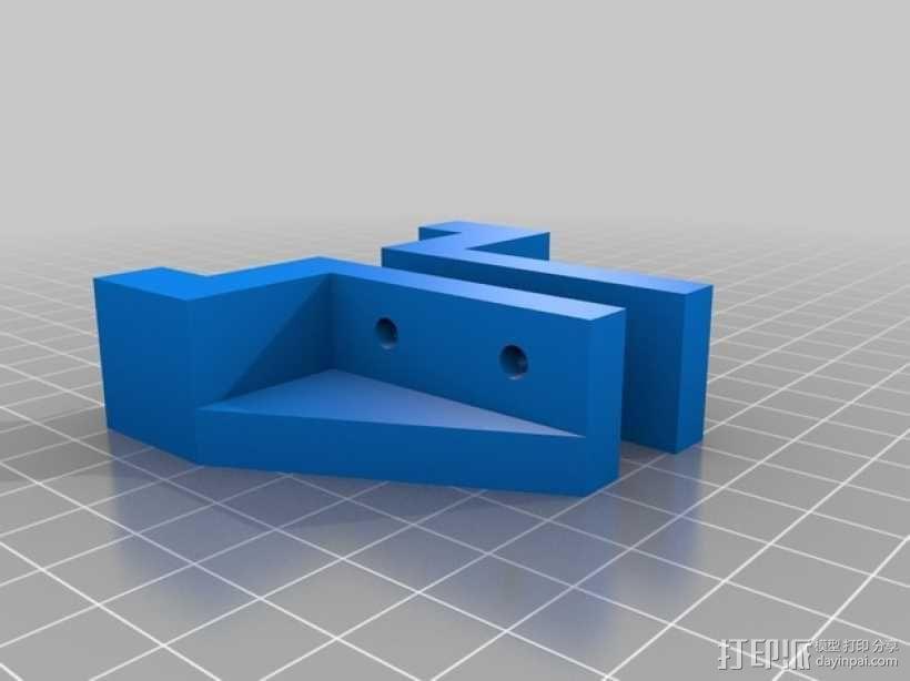 壁橱托架 3D模型  图3