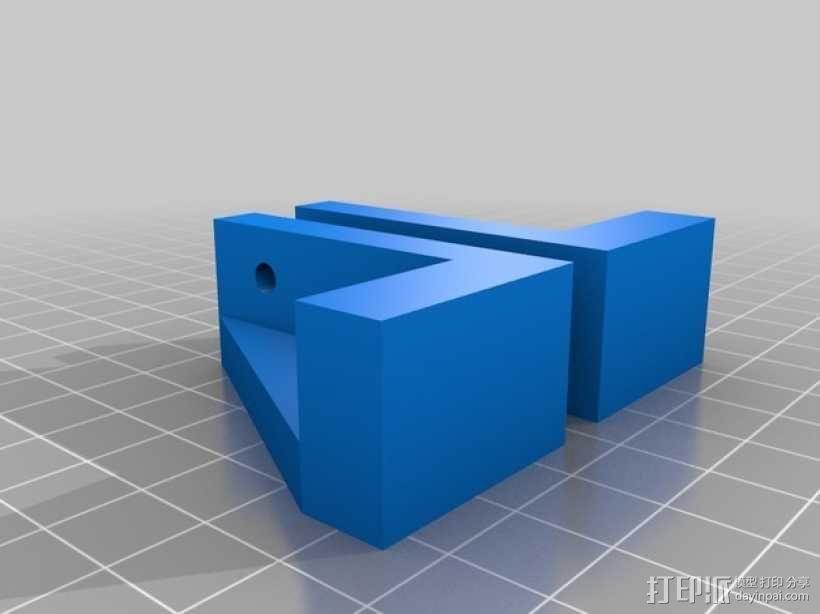 壁橱托架 3D模型  图2