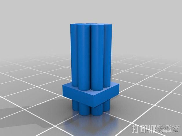 坦克摆件 3D模型  图4