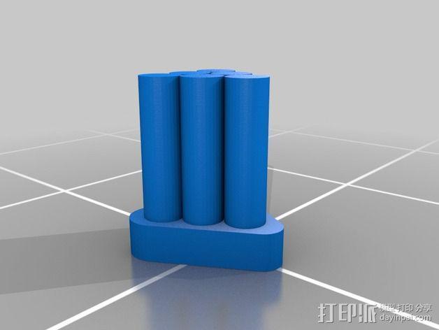 坦克摆件 3D模型  图6