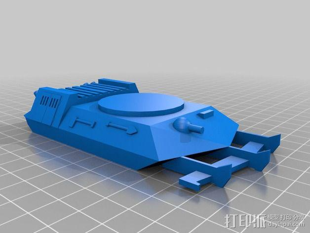 坦克摆件 3D模型  图7