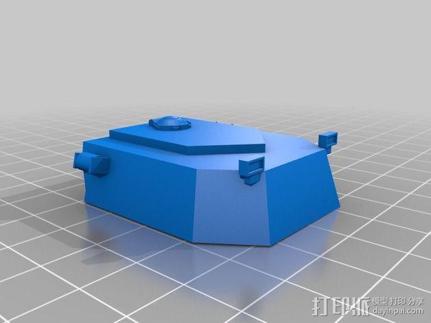 坦克摆件 3D模型  图9