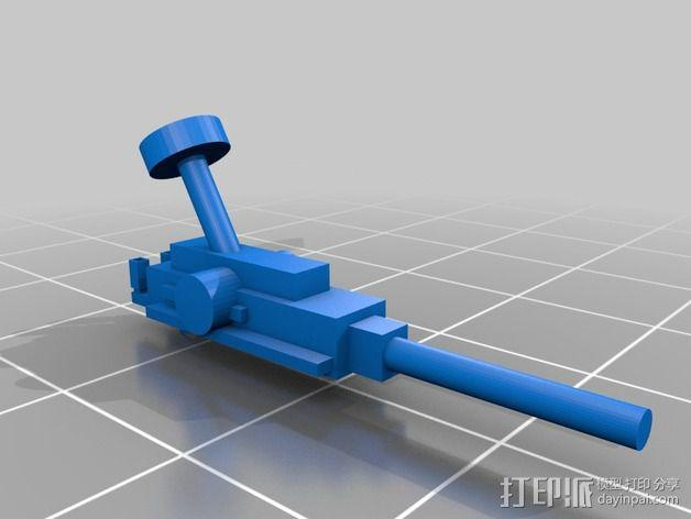 坦克摆件 3D模型  图10