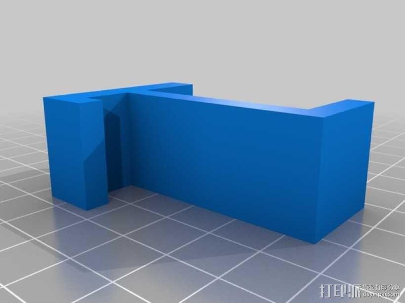简易耳机架 3D模型  图2