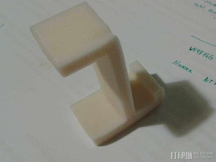 简易耳机架 3D模型  图3