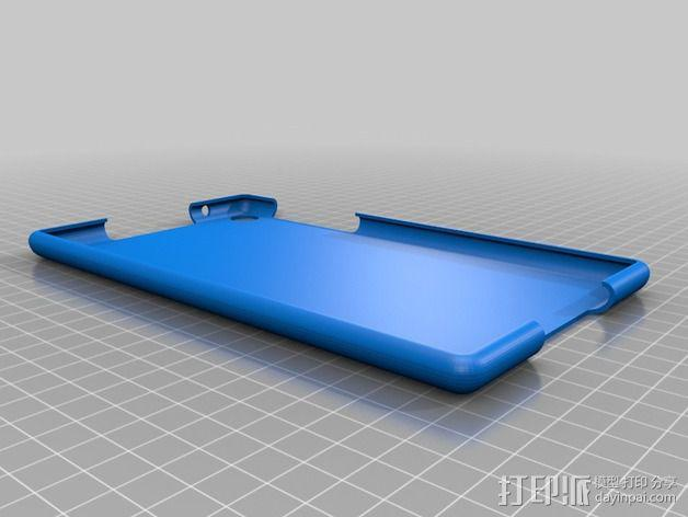 Nexus 7 手机壳 3D模型  图1