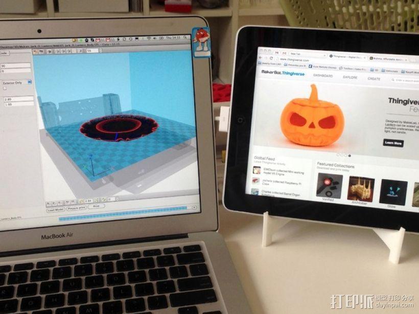 iPad支架 3D模型  图1