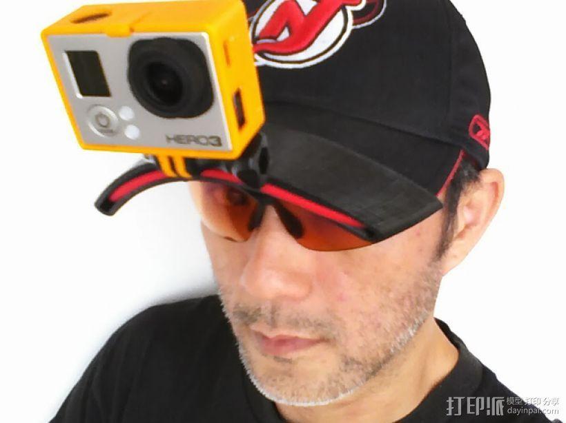 GoPro Hero 3 适配器 3D模型  图2