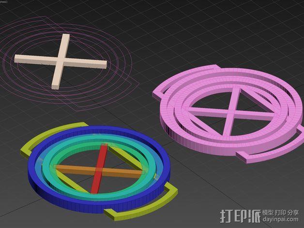 镜头盖 3D模型  图8