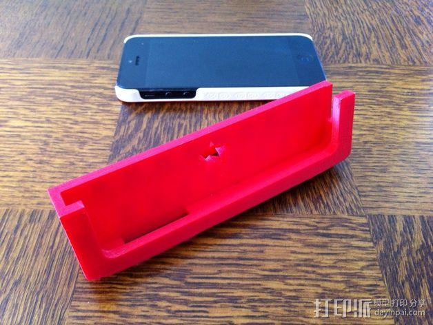 Iphone 5车载手机座 3D模型  图1