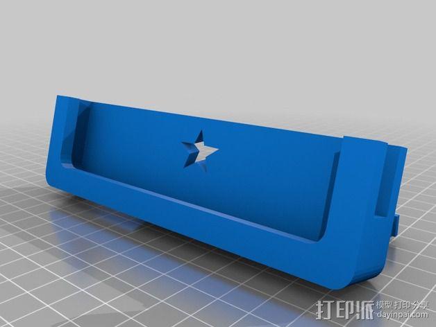 Iphone 5车载手机座 3D模型  图2