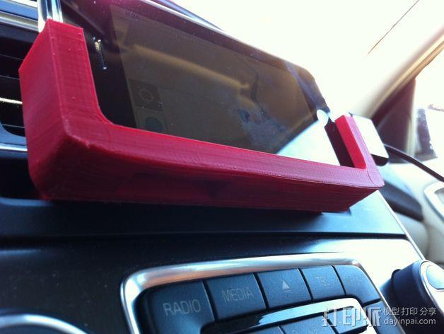 Iphone 5车载手机座 3D模型  图7
