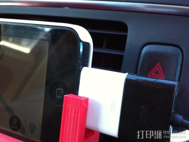 Iphone 5车载手机座 3D模型  图8