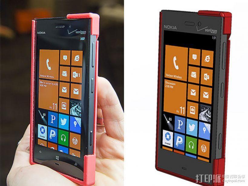 Nokia Lumia 928手机壳 3D模型  图1