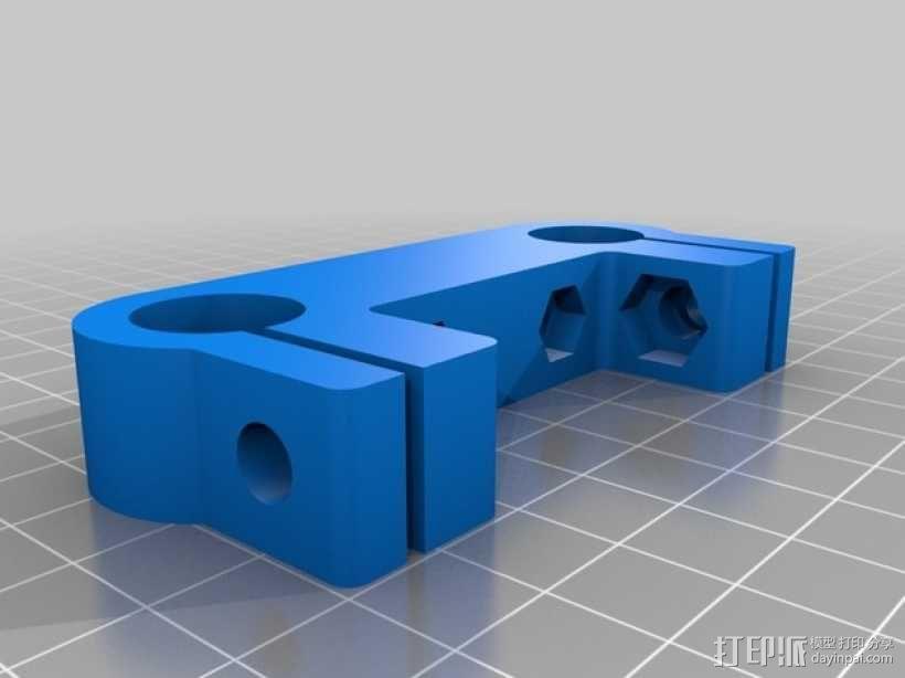 follow-focus架子 3D模型  图1
