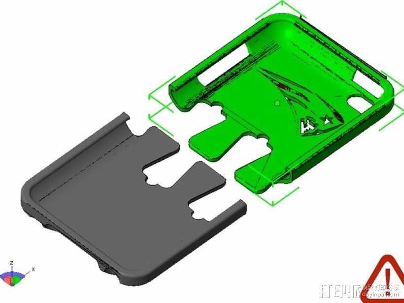iPod保护壳 3D模型  图1