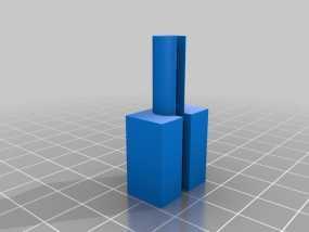 USB电缆保护器 3D模型