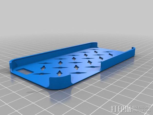 Iphone 5手机壳 3D模型  图2