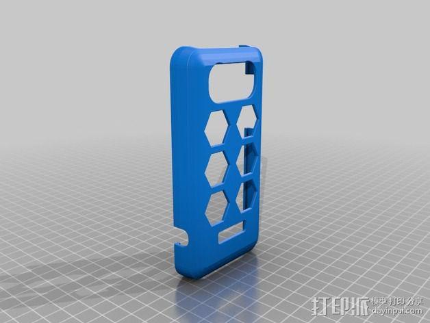 Huawei u8860手机壳 3D模型  图2
