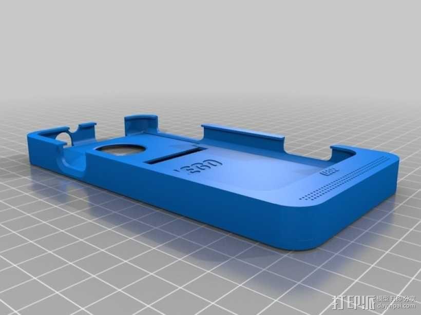 HTC EVO 乐高质地手机壳 3D模型  图2