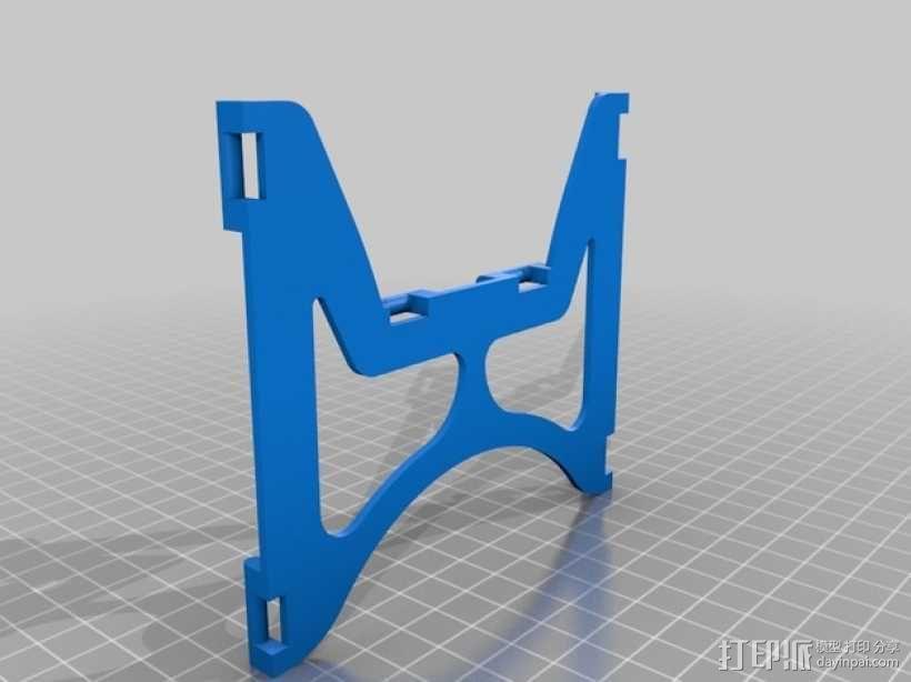 平板支架 3D模型  图3