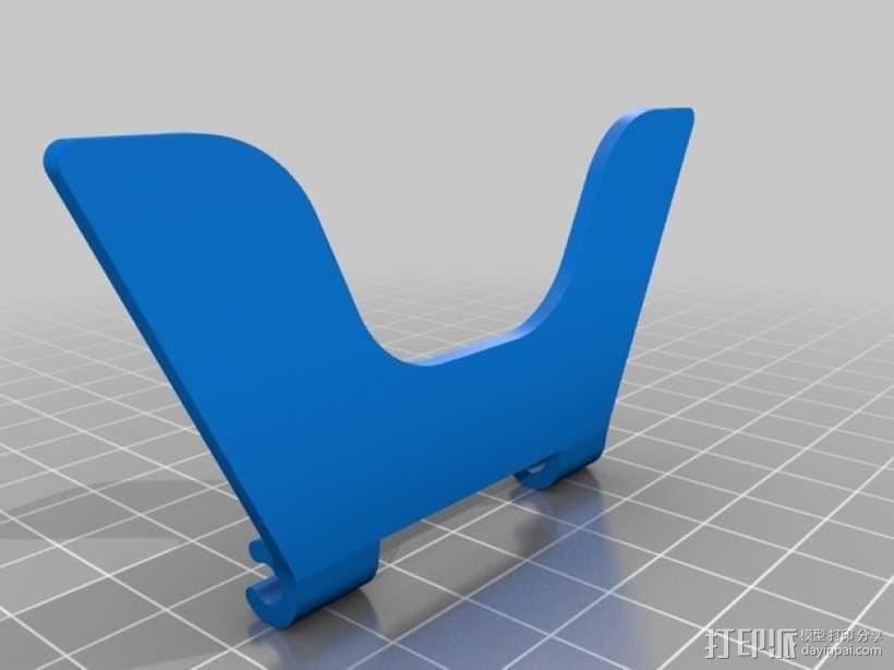 平板支架 3D模型  图4