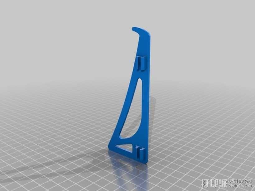 平板支架 3D模型  图5