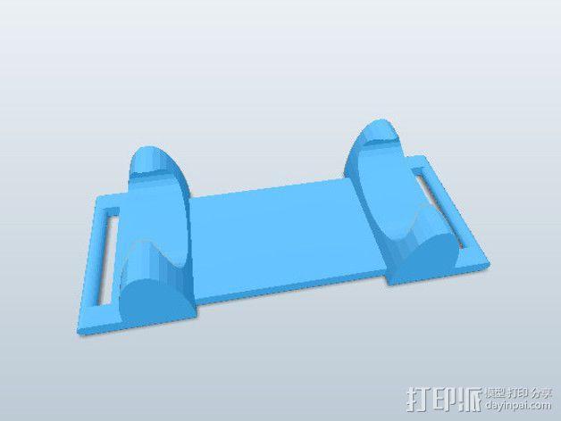 部件  3D模型  图2