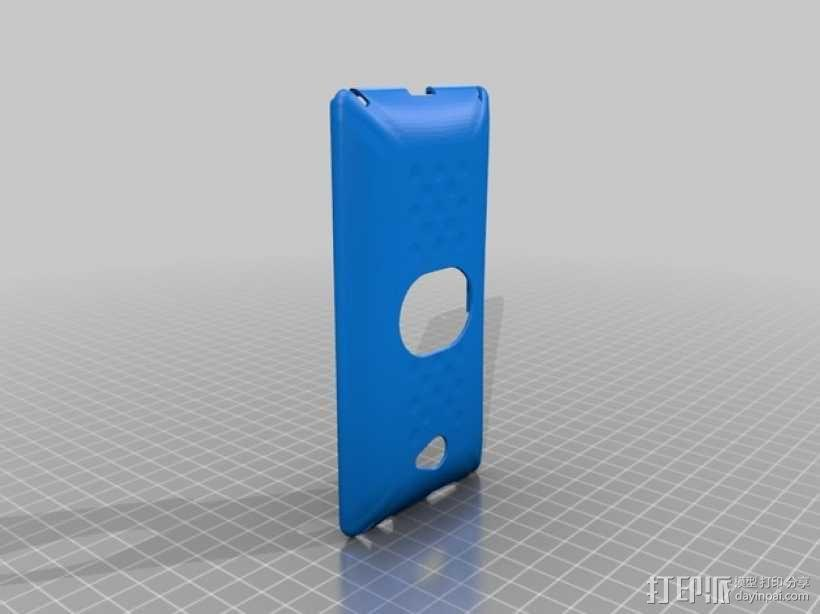 HTC 8X 手机壳 3D模型  图1