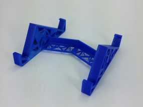 三角形平板站架 3D模型