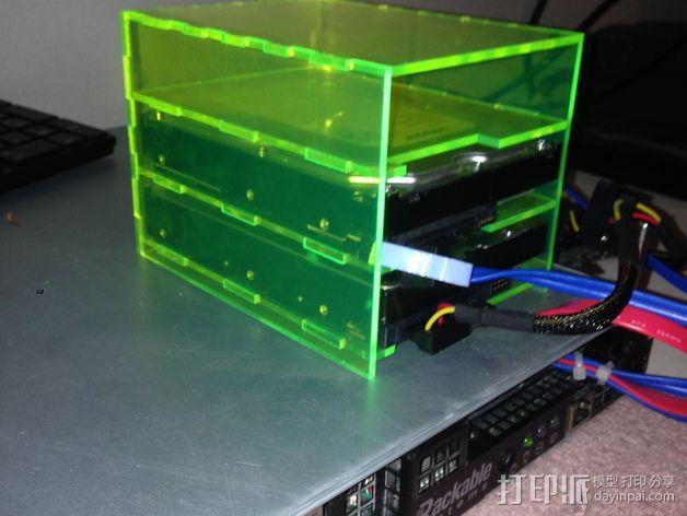 硬件放置盒 3D模型  图2