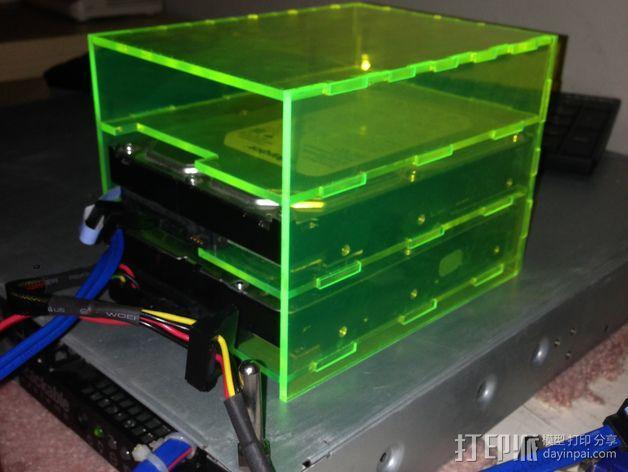 硬件放置盒 3D模型  图3