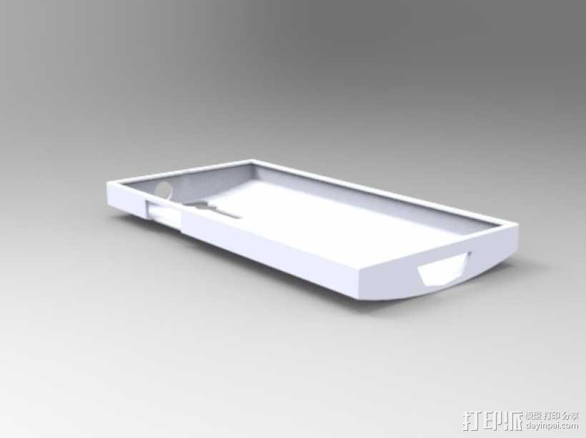 Xperia S手机壳 3D模型  图1