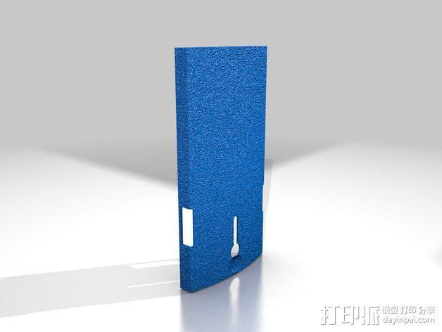Xperia S手机壳 3D模型  图2