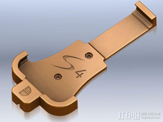 Samsung S4手机座 3D模型  图1