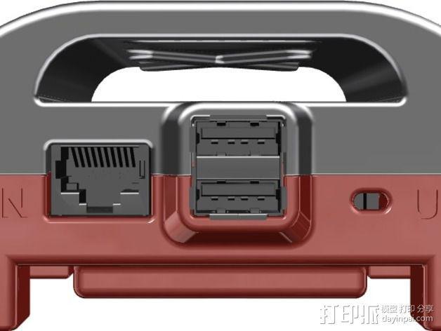 Raspberry Pi相机盒子 3D模型  图2