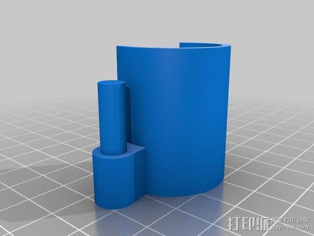 摄像头支架 3D模型  图3