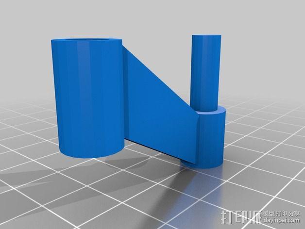 摄像头支架 3D模型  图4