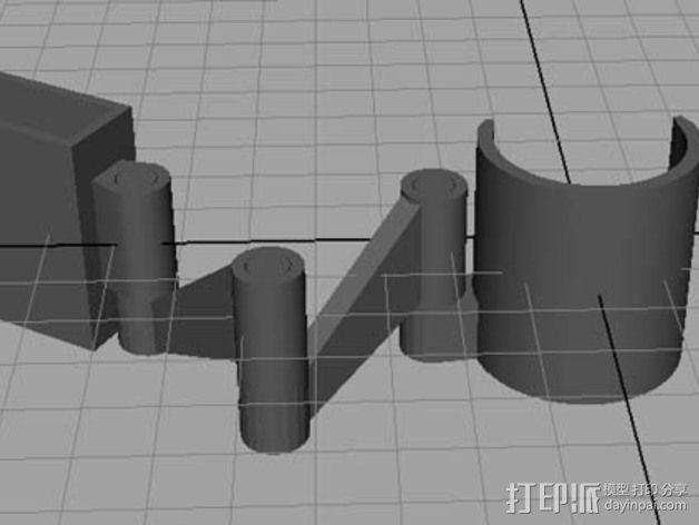 摄像头支架 3D模型  图7