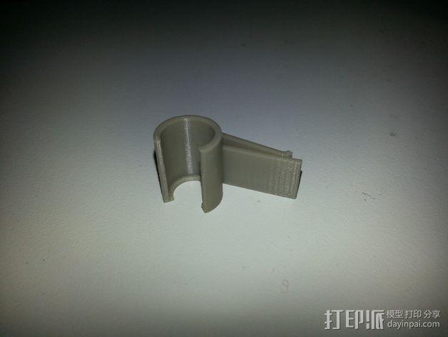 GoPro Mic支架 3D模型  图3