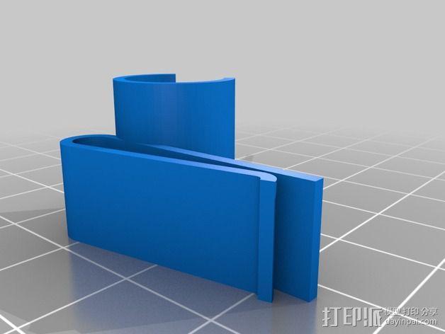 GoPro Mic支架 3D模型  图6
