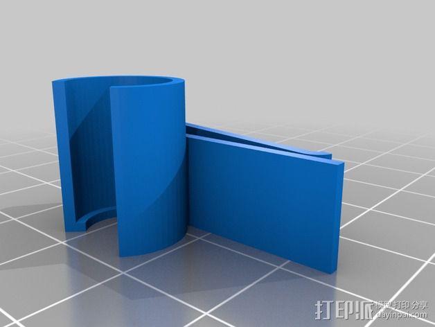 GoPro Mic支架 3D模型  图5