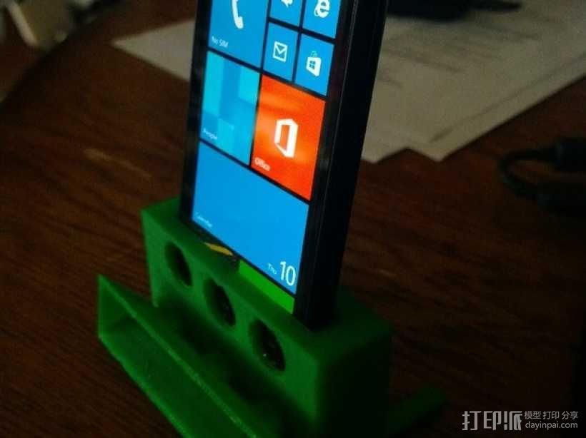 Nokia Lumia 1020手机座 3D模型  图1