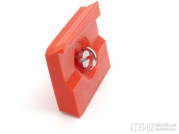 501适配器 3D模型  图2